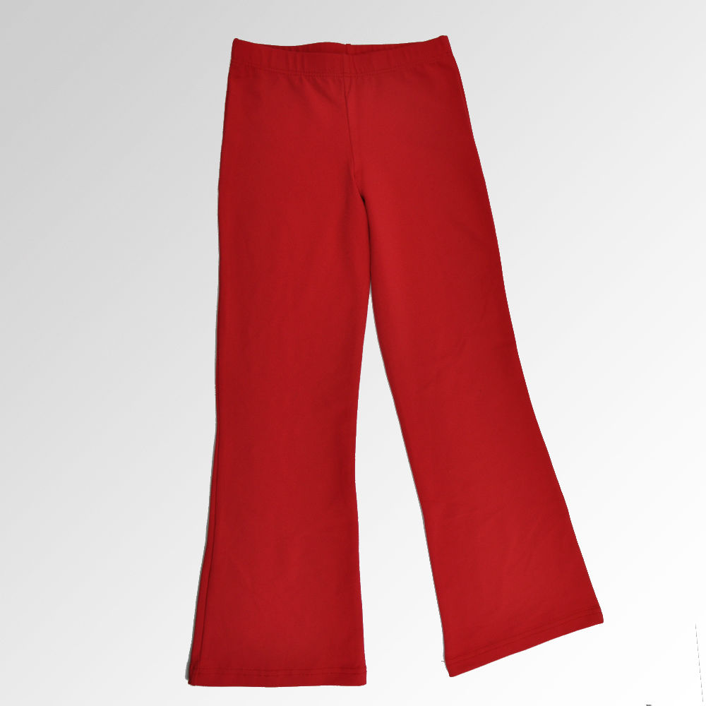 pantalon-campana-niños-rojo
