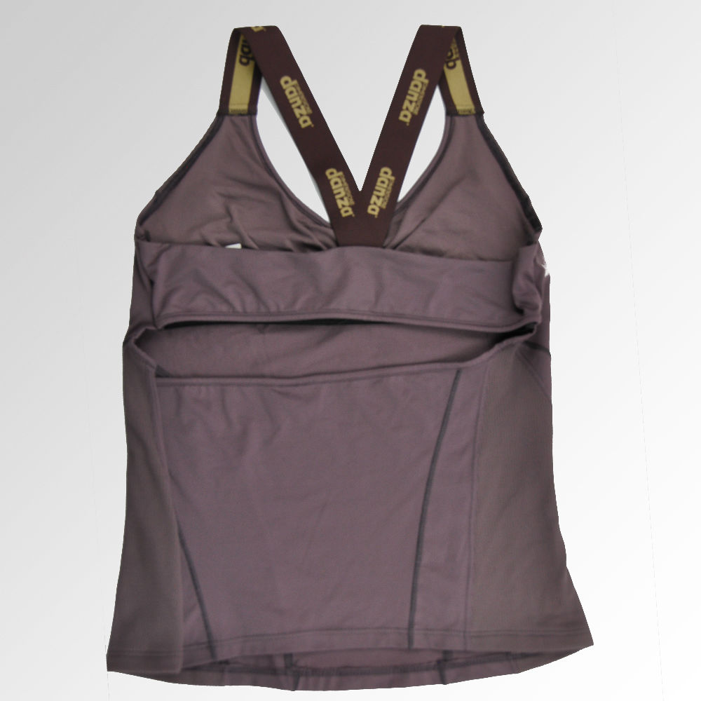 top-dimensione-marron-lycra