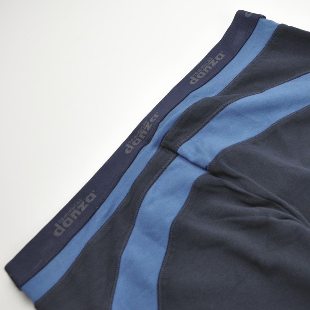 pantalón pirata raya azul